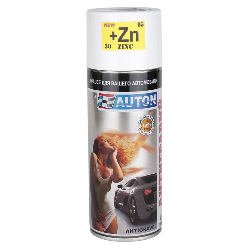 Auton Антигравий-спрей +Zn с цинком Автон белый, уп. 520 мл 967