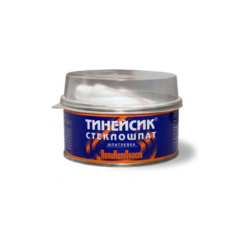 """Шпатлевка 2К полиэфирная со стекловолокном """"Тинейсик-Стеклошпат"""" ПолиКомПласт, уп. 0,2 кг 959"""