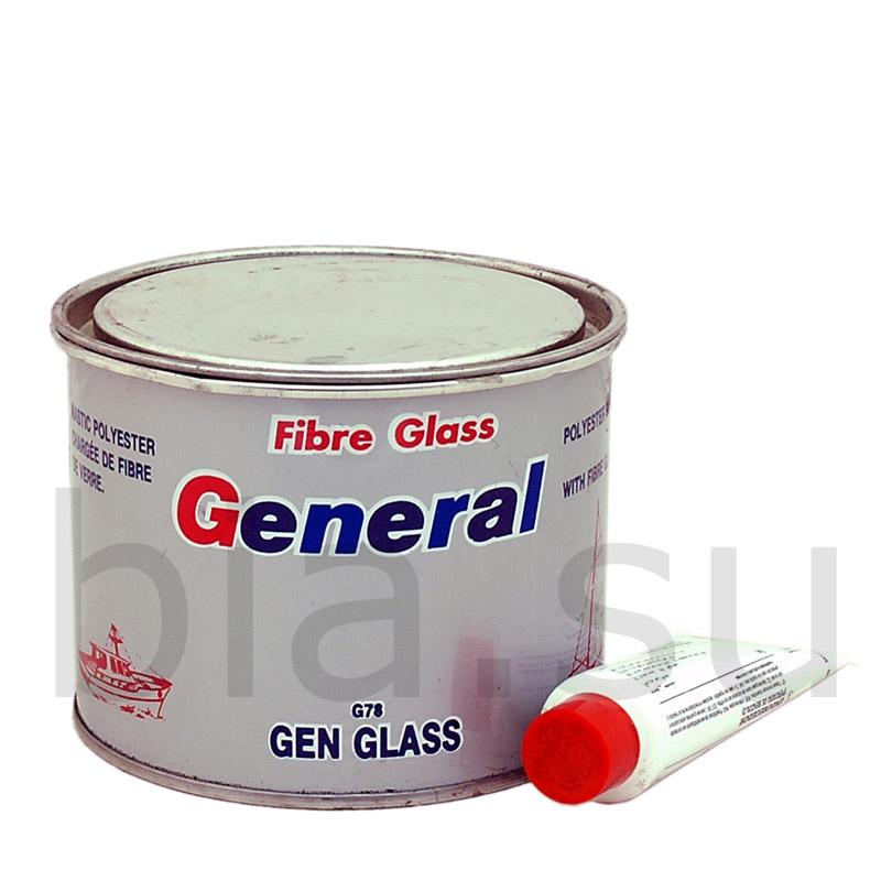 G-G78 G78 Шпатлевка автомобильная полиэфирная со стекловолокном General, уп.0,8кг 955