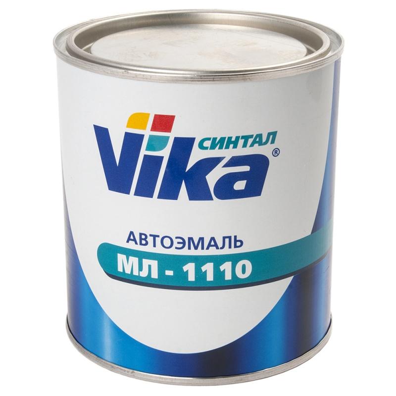 201 белая , автомобильная краска алкидная, автоэмаль Vika МЛ 1110, уп. 0,8 кг 333