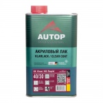 Лак  AUTOP  2K Clear HS Rapid Antiscratch 40/30 акриловый, уп.1,0л