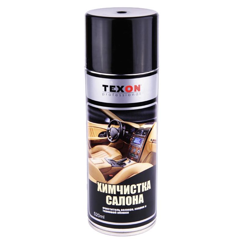 Средство для химчистки салона автомобиля Texon (аэрозоль), уп. 0,52л 958