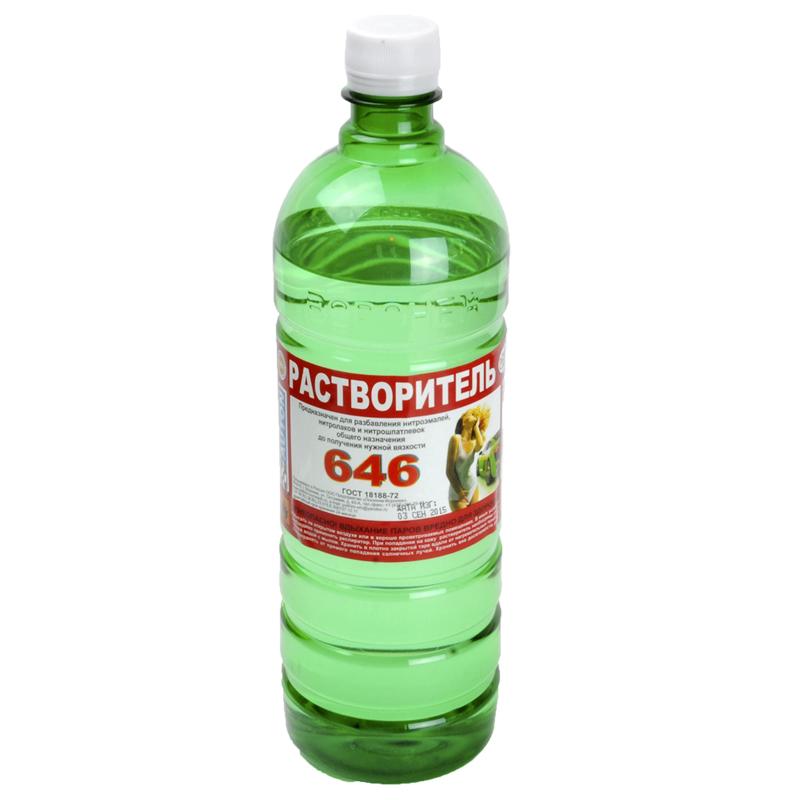 """646 Растворитель """"Полихим"""", уп. 0.5л 963"""