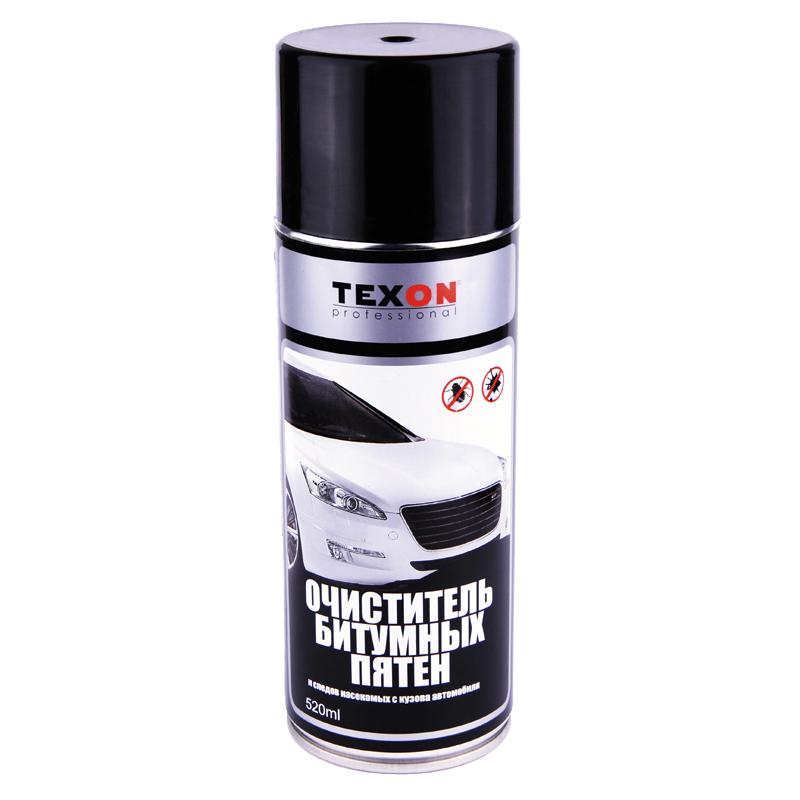 Очиститель битумных пятен (аэрозольный) Texon, уп. 0,52л 958