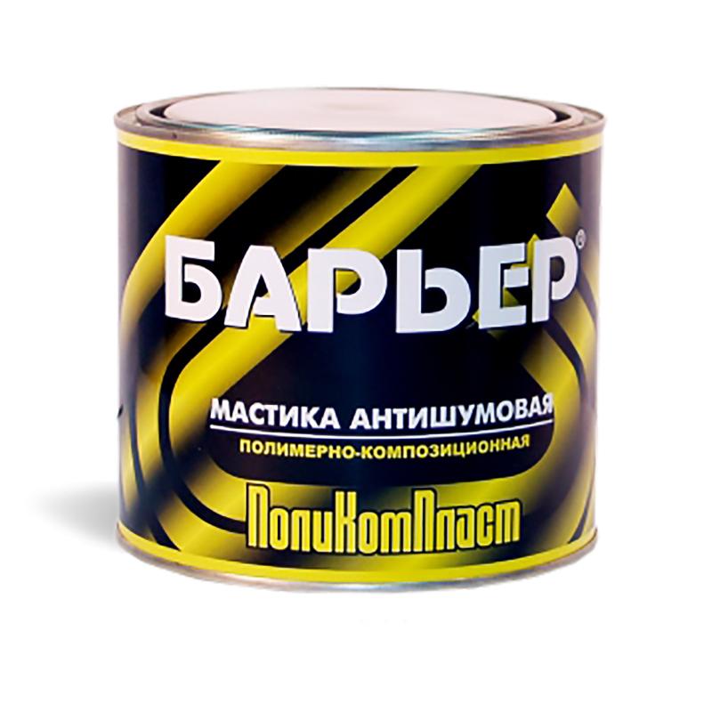 """ПолиКомПласт Мастика антишумовая """"Барьер"""", уп. 2,2 кг 959"""