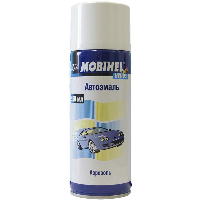 628 нептун, аэрозольная краска, основа металлик автоэмаль Mobihel 953
