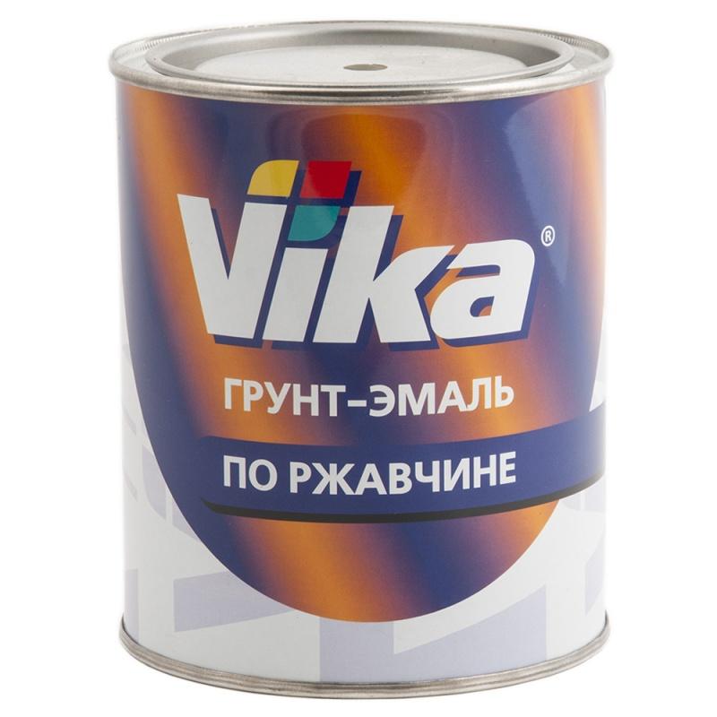 """Грунт-эмаль по ржавчине, Грунт-эмаль RAL 8017 шоколадно-коричневый, """"Vika"""" Вика, уп. 0,90 кг 333"""