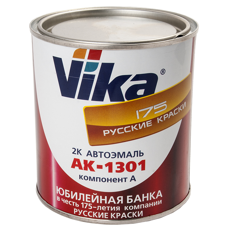 Белый ГАЗ, 2К автомобильная краска акриловая, автоэмаль Vika АК1301, уп. 0,85 кг 333