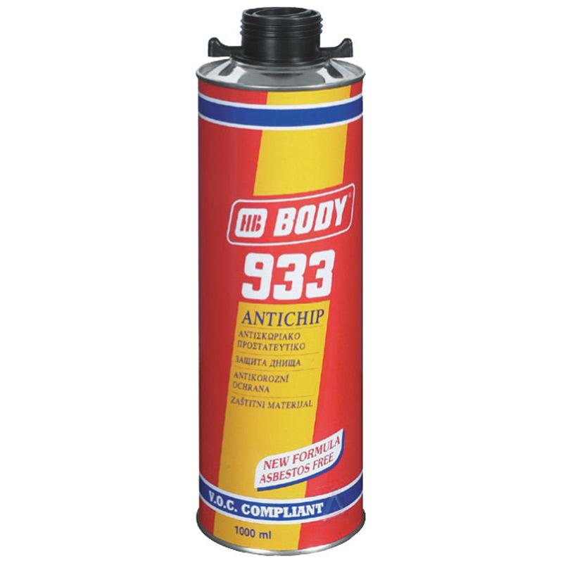 Body HB Антикоррозийное покрытие BODY 933 (черный) антикор под UBS пистолет, уп. 1 л 956