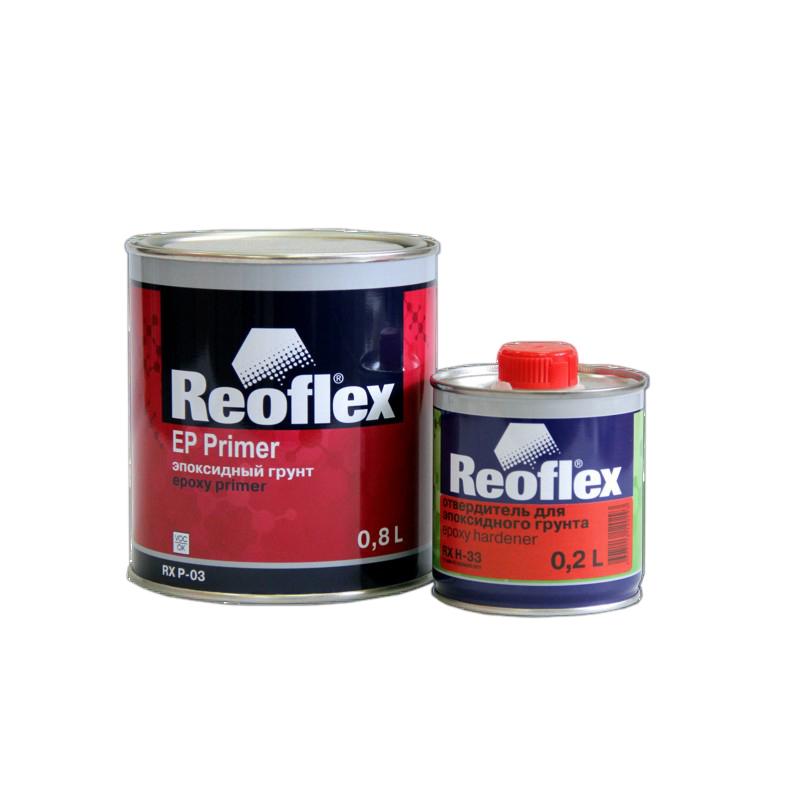 Грунт эпоксидный 2K Reoflex (серый) уп. 0,8+0,2л (комплект) 960